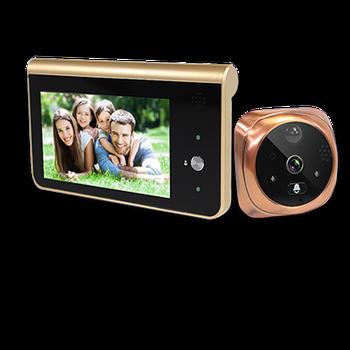 Topvico Doorbell Video Peephole Wifi Doorbell Camera 4.3 9