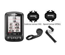 Igpsport computador de ciclismo igs618 com gps, velocímetro ipx7 com acessórios