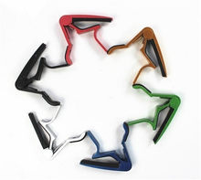 Guitar capo colors metal Change Clamp Key guitar & accessories china guitarra capotraste cheap(China)