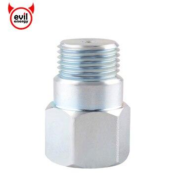 Evil energy O2 Adapter dystansowy izolator przedłużacz kątowy przedłużacz, rozpórka M18 * 1.5 O2 Adapter czujnika tlenu części samochodowe