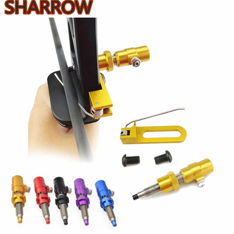 1 Set Aluminum Cushion Plunger Screw On Magnetic Arrow Rest Side For Recurve Compound Bow Outdoor Shooting Tools Accessories