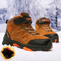 Winter Boots for Boys Kids Snow Shoes Teenagers Children Hiking Shoes Walking Climbing Sneakers CN size 31 40