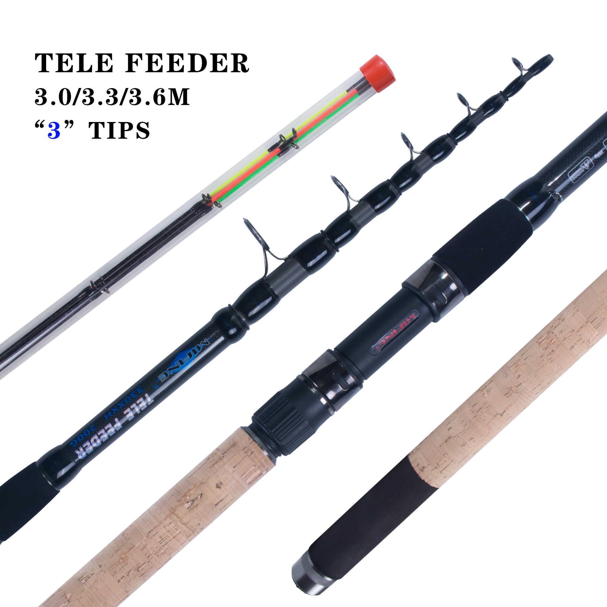 Как сделать фидер из телескопической удочки