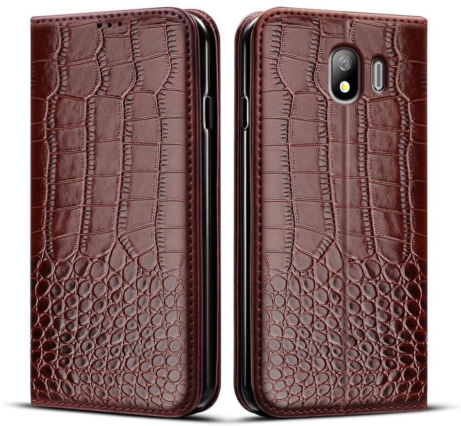 Чехол для Samsung Galaxy J4 2018, кожаный чехол-книжка для Samsung Galaxy J4, J400, чехол для телефона Galaxy J4, J400F, чехол 5,5 дюйма