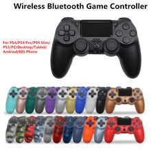 PS4 Controller Wireless Joystick 6-Axis Dual Vibration Joypad Gamepad For PC Laptop Mobile Phone iPad Mando ps4 Manette PS4