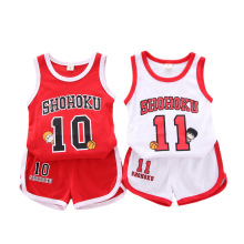 Kids Basketball Jerseys Breathable Sportswear Basketball Uniforms Child Sports Clothes Basketball Jersey Sets 0-4y цена 2017