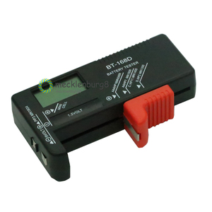 Image 5 - BT 168D Portable Digital Battery Tester BT168 LED Black AA AAA 1.5V 9V Battery Power Measuring Tool Test Checker Voltage Meter