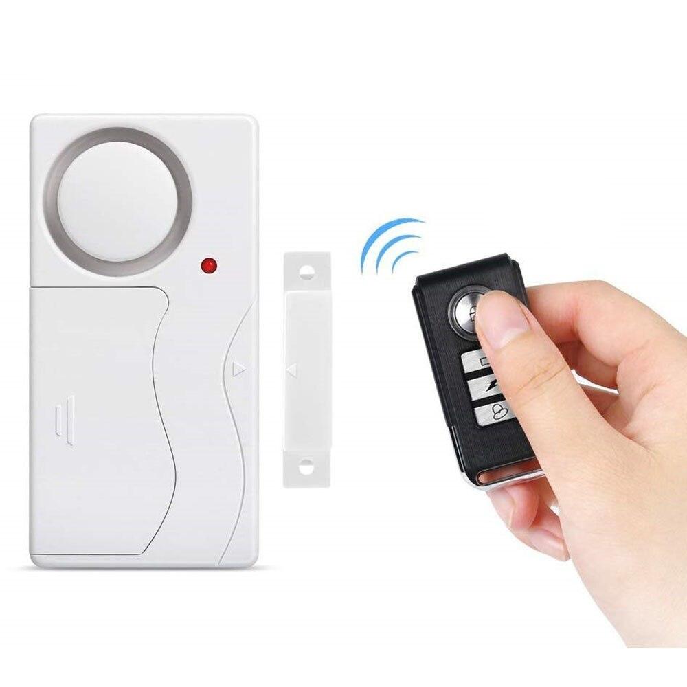 Дверная сигнализация Awapow, беспроводной пульт дистанционного управления, противоугонная дверь и окно, датчик охранной сигнализации