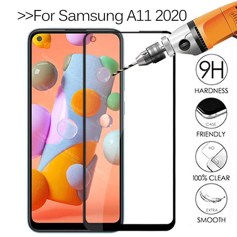 """Tempered Glass For samsung a11 screen protector For samsung Galaxy a11 2020 SM-A115F/DS A115F 6.4"""" protective Glass Film Cover"""