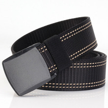 цены ремень Nylon Belt for Man Airport-friendly Non-Metallic Automatic Buckle Canvas Belt
