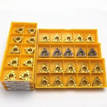 MMT 16ER 16IR AG60 VP15TF UE6020 US735 Gewinde Drehen Werkzeug Hartmetall Insert CNC Drehen Einfügen Stoßen Gewinde Werkzeug 11ER 11IR AG60