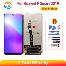 10 toque aaa qualidade lcd para huawei p inteligente 2019 lcd com moldura de tela lcd para p inteligente 2019 tela lcd POT-LX1 l21 lx3