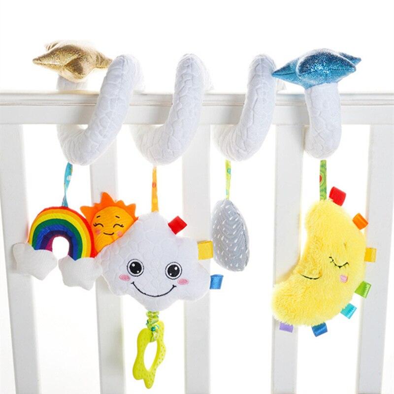 new desenhos animados movel cama sino bebe chocalho brinquedos cribe mobiles brinquedos da crianca recem nascidos