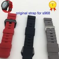 S968 smart watch cinturini di ricambio Smartwatch cinturino in Silicone cinturino cinturino da polso cinture cinturino nero rosso grigio colore stock