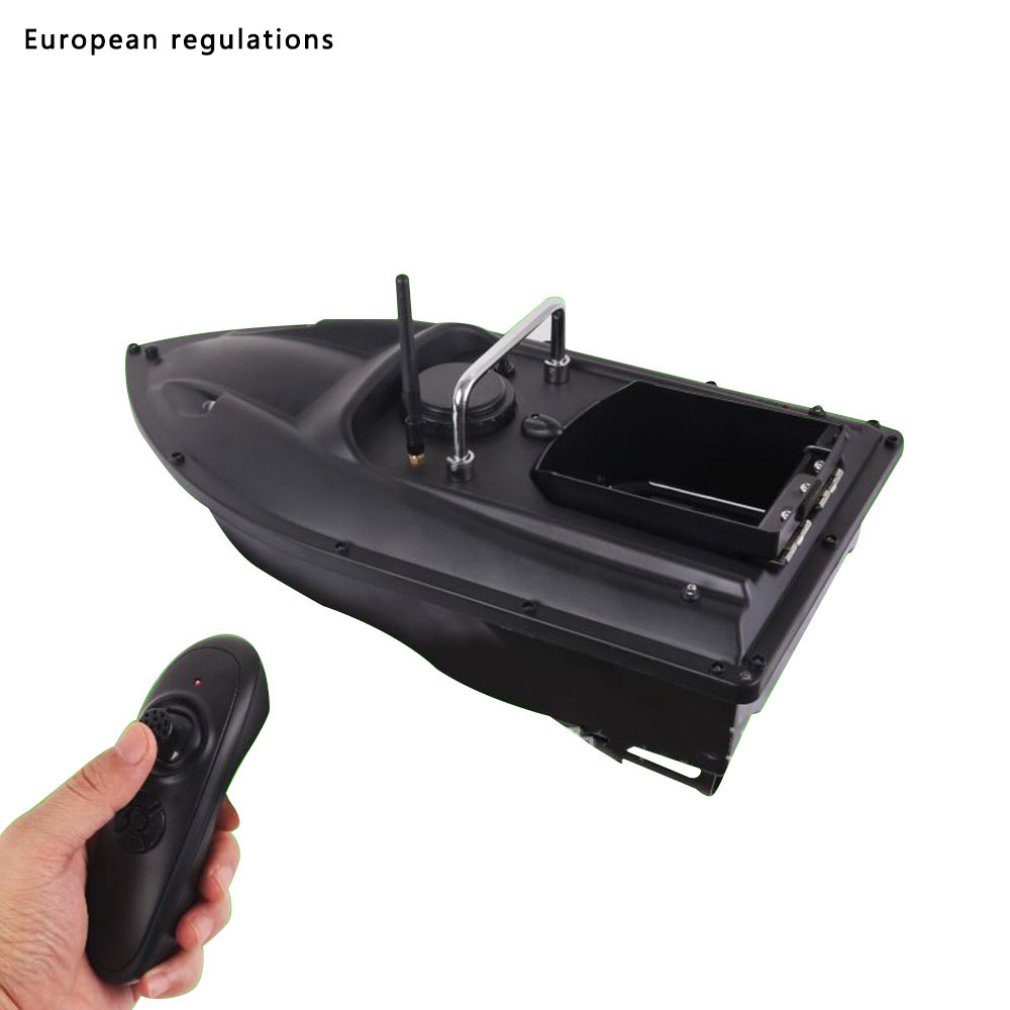 Wireless Nesting Boat Remote Control Cruise Speed Intelligent Fishing Boat ABS Anti-fall Single Bin Fishing Supplies