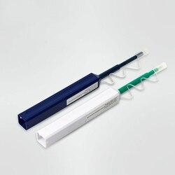 2 Stks/partij Lc/Sc/Fc/St One-Click Cleaner Tool 1.25Mm En 2.5Mm Fiber optic Cleaning Pen 800 Reinigt Fiber Optic Cleaner