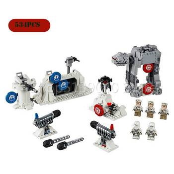 New Compatible with Star Wars 75241 Empire Counterattack Action Set Decisive Battle Base Building Blocks  Toys for Children