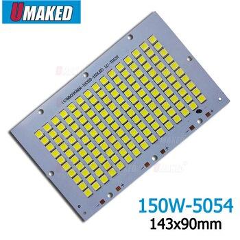 150 Вт 143x90 мм 100% полномощный светодиодный прожектор PCB SMD5054 Светодиодная панель, 15лм алюминиевая пластина для светодиодного прожектора