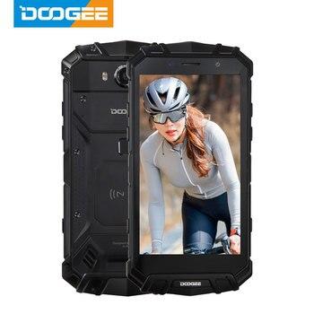 Original DOOGEE S60 RAM 6GB ROM 64GB Smartphone IP68 Waterproof 5580mAh Helio P25 Octa Core Wireless Charge NFC 4G Mobile Phone blackview bv8000 pro ip68 waterproof cellphone mtk6757v octa core android 7 0 mobile phone 5 0 fhd 6gb ram 64gb rom 4000mah nfc