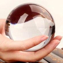 Kristall Kugeln 40mm-100mm Klar Farbe Glas Ball Fotografie Glas Feng Shui Kugel Ball Stand Home Decor ornamente