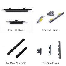 Botón de ajuste de volumen de encendido/apagado para Oneplus 1/2/3/3 T/5 reemplazo de piezas de reparación de cinta de Cable flexible