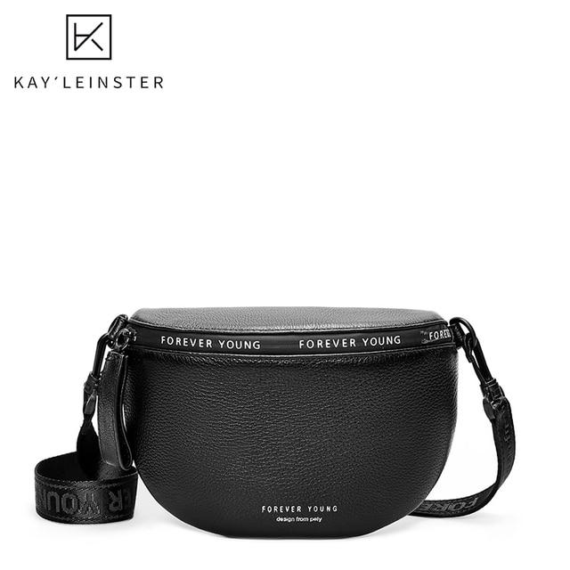 $ US $17.63 Genuine Leather Crossbody Bags Women Famous Brand Female Shoulder Bag Fashion Wide Shoulder Strap Soft Small Women Bag Bolsa sac