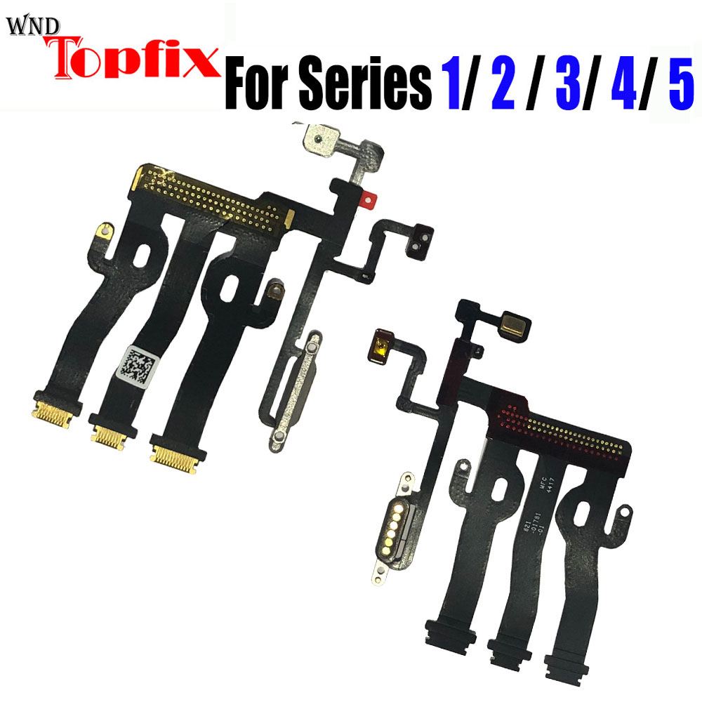 1pcs New LCD <font><b>Display</b></font> Touch Screen Motherboard <font><b>Connector</b></font> Flex Cable For <font><b>Apple</b></font> Watch Series 1 2 3 4 5 LCD Motherboard Flex Cable image
