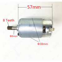 WORX Motor RS-550VD-6532 H3 RS 550 WX390 WU390 WX390.1 WX390.31 WU390.9 WX390.9 20V H3 QN147Y12 Güç Aracı Aksesuarları araçları