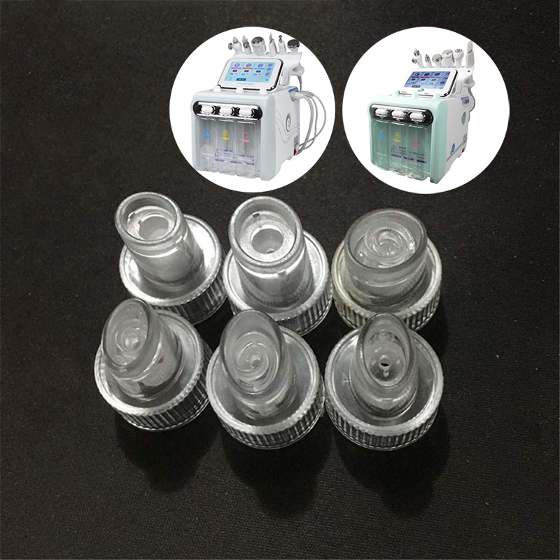 6pcs Water Hydrogen Oxygen Jet tips, Peel Beauty skin Cleansing Hydro Dermabrasion Hydra facial Machine Accessories