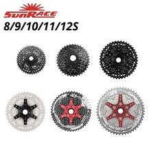 Кассета велосипедная SunRace CSM680/CSM98/CSMS3/CSMS8/CSMX8/CSMZ901, велосипедная с широким коэффициентом скорости 8/9/10/11/12, совместимая с Shimano