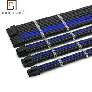 Image 5 - Cơ Bản Nối Dài Bộ 4Mm Thú Cưng 24Pin ATX 1 Cái CPU 8Pin 4 + 4Pin 1 Cái GPU 8Pin 1 Cái GPU 6Pin PCI E Điện Nối Dài