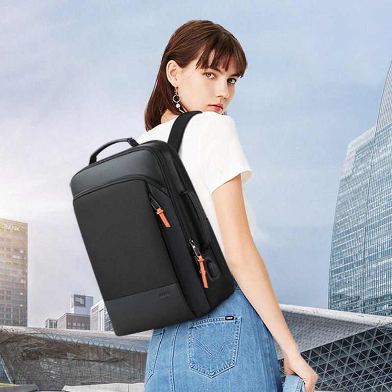 BOPAI Men Backpack Expandable Weekend Travel Backpack Men Water Repellent Laptop Backpack Computer Back Pack Male Bagpack 6