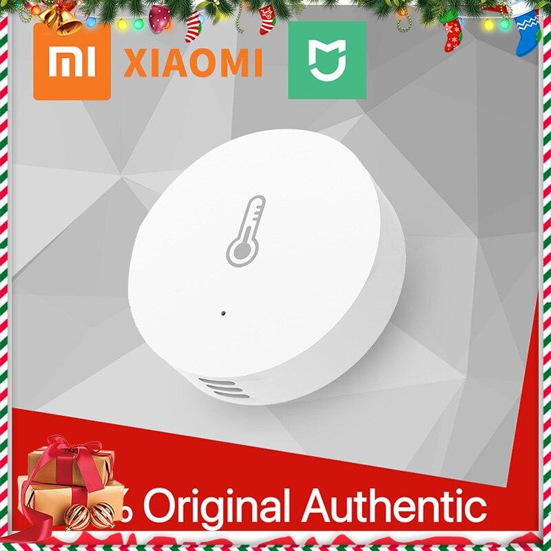 Original Xiami Mijia Smart Temperature And Humidity Sensor WiFi Remote Control By Mi APP Mijia Smart Home Thermometer Sensor 22