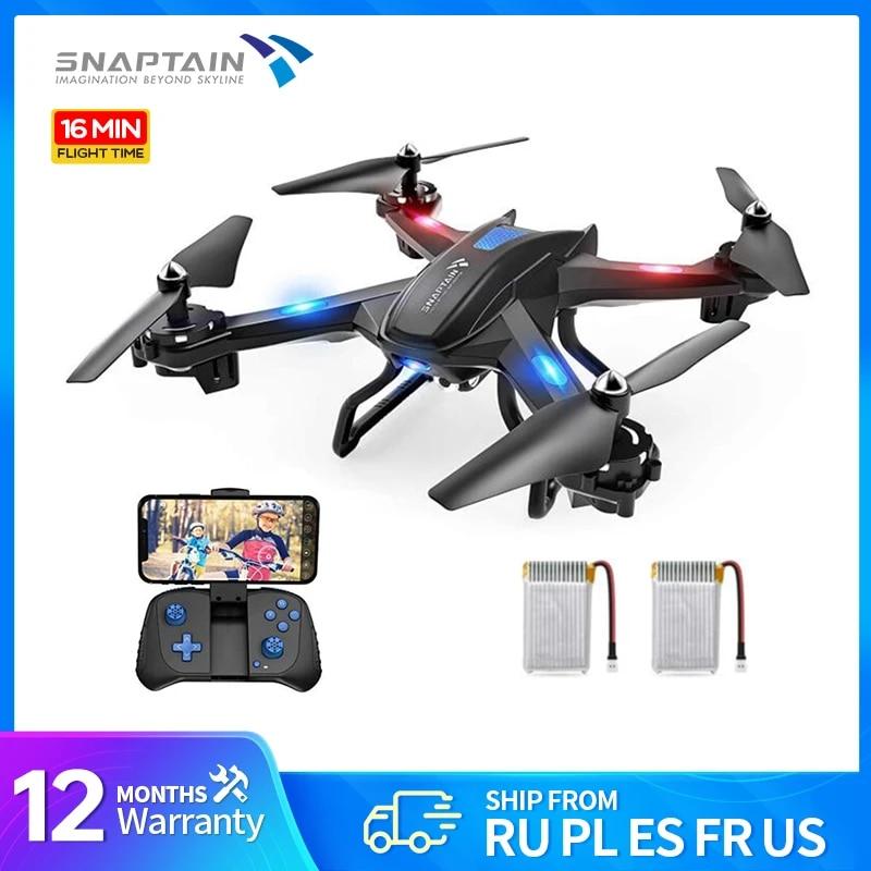 SNAPTAIN S5C Drone WiFi FPV 1080P HD camera drone Voice control Gravity Sensor drone profissional Foldable Quadcopter RC Dron