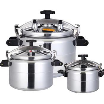 Pressure Cooker Commercial Large Capacity Gas Cooker Pressure Cooker Stew Pot Kitchen Cookware Safety Pan Induction Cooker Pot фото