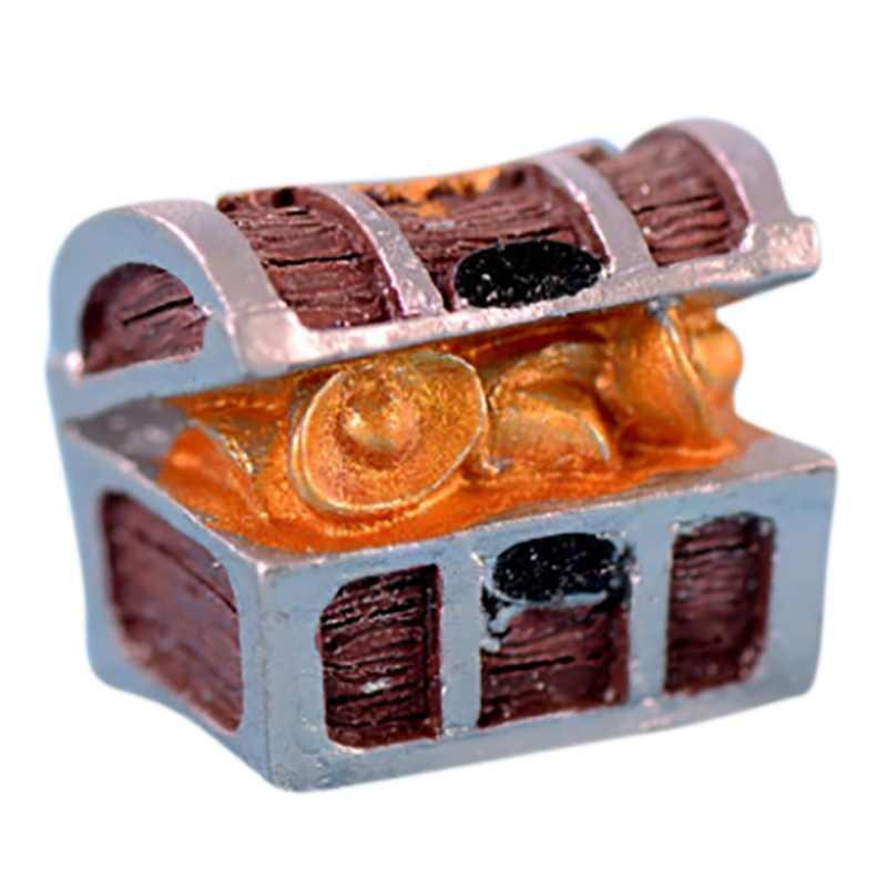 حوض السمك الديكور صندوق خزانة المجوهرات حوض سمك صغير المشهد زخرفة البحر الأبيض المتوسط أسفل الديكور