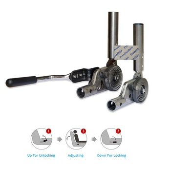 1Pair/Lot Recliner Mechanism Ratchet Hinge Couch Sofa Seat Back Rest Chair Backrest Adjuster Free Locking Controlling Handle