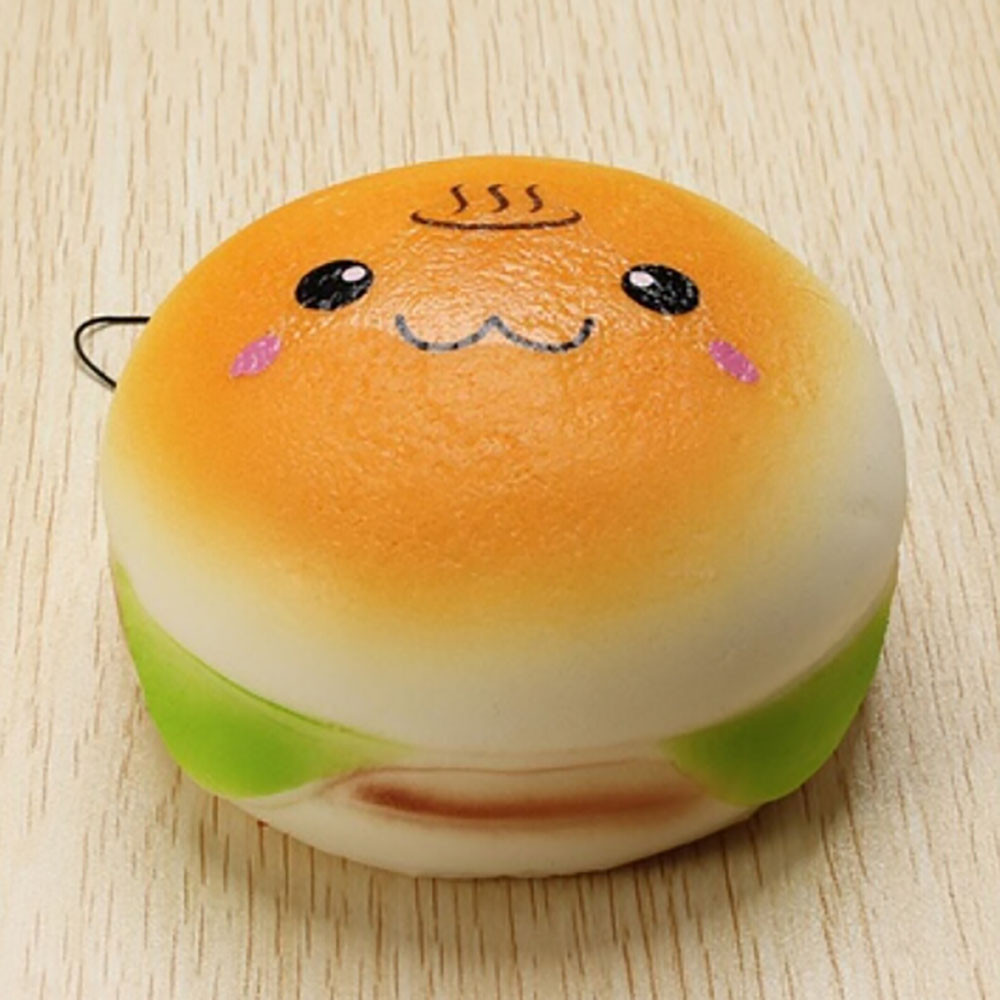 Simulation Yummy Bread Slow Rising Antistress Toy Simulation Food Toy Kids Gifts Boys And Girls Punching Bag #A
