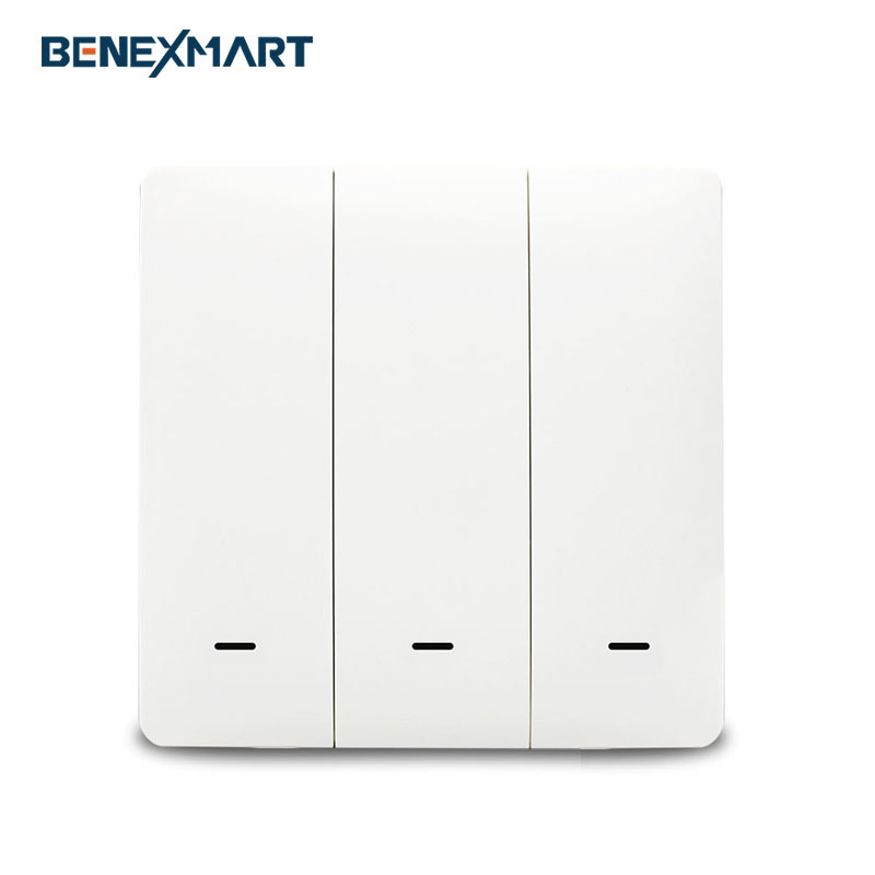 Zigbee 3.0 EU Push Switches Wall Light Switch Compatible with SmartThing hue APP Phone