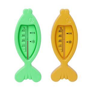 Детский термометр для ванны с изображением рыбы, Безопасный термометр для ванны, игрушки для ванной с дисплеем температуры воды