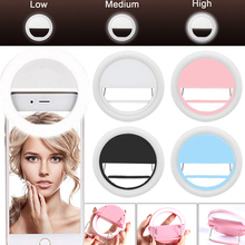 LED Selfie light ring for mobile phone, photo lighting for smart phone Xiaomi iPhone Sumsang
