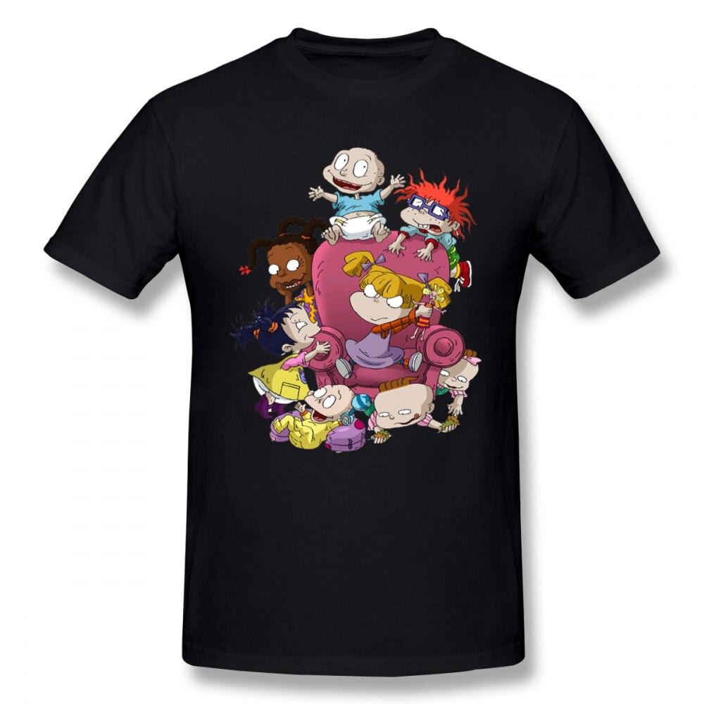Rugrats T Shirt Rugrats T Shirt Cotton Mens Tee Shirt Short Sleeve Big Graphic Cute Beach Tshirt in T Shirts from Men 39 s Clothing