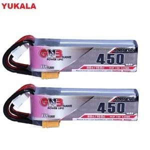 YUKALA 1pc-3pc 450mAh 2S 7.6V