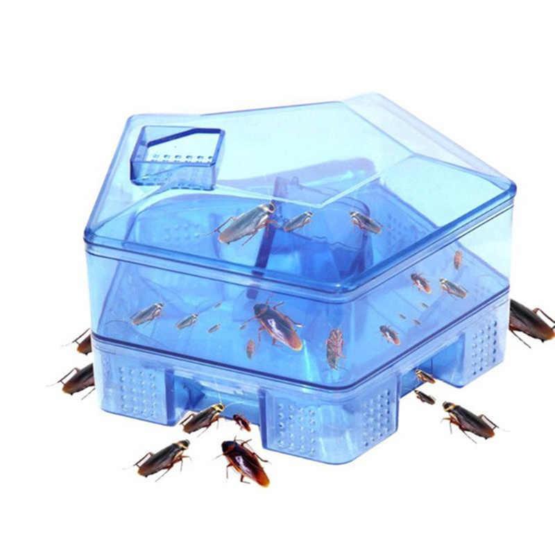 Veilig Anti Kakkerlakken Killer met 3pcs Aas Niet giftig Kakkerlak Trapper Thuis Keuken Levert Milieuvriendelijke Kakkerlak Val Tool