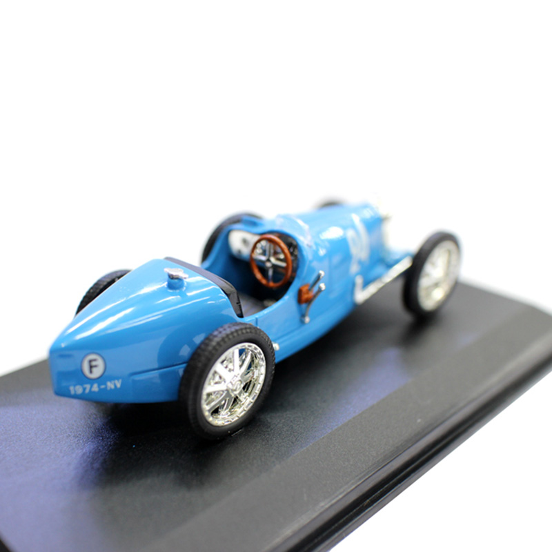 <font><b>1:43</b></font> 1928 BUGATI T35B <font><b>Diecast</b></font> Alloy Classic Racing Car Vehicle Model Simulation <font><b>Vintage</b></font> Display Collection Artwork for Fans Gift image