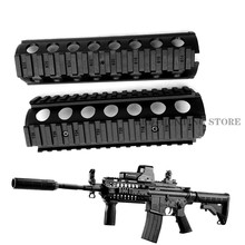 Nylon AR-15 M4 jelca Quad Rail 2-sztuka Drop-w montażu jelca dla Paintball(China)