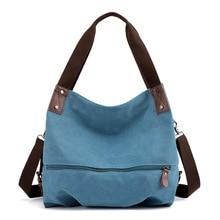 Women Handbag Canvas Female Shoulder Bags Designer Women