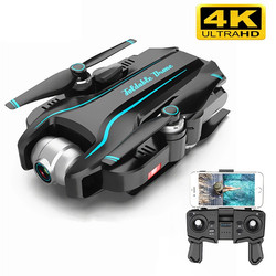 Smart RC Drone 4k with Dual Camera Optical Flow HD One-key Return Adjustable Angle Camera Helicopter Quadcopter Toys Kid