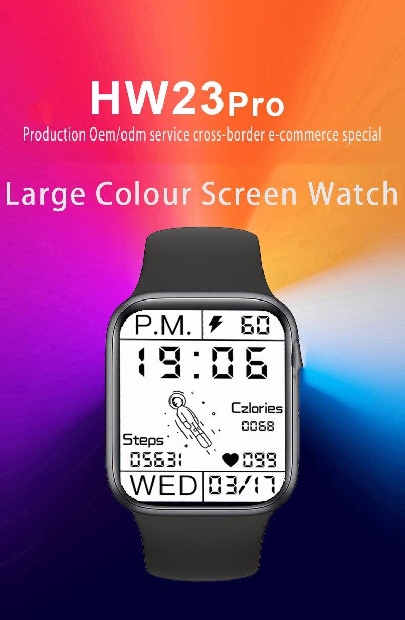 2021new Watch1.78inch HW23 Pro Inteligente discagem personalizado