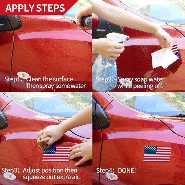 US American Flag - Sticker 6